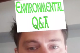 Augmented Reality Environmental Q and A Game.