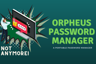 Orpheus based Password Manager