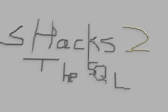 the shacks logo but i made it 3d