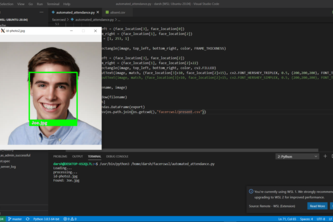 Automated Face Recognition Attendance System in Python