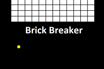 Simple Brick Breaker Game .