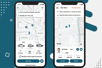 Eber - On Demand Taxi and Ground Transportation App