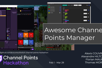 Awesome Channel Points Manager