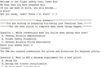 The Aviation Practical Test