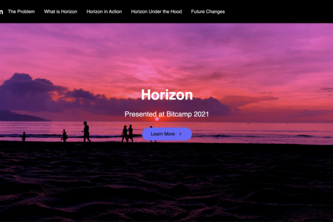 Horizon: Interactive Education at the Tip of Your Tongue