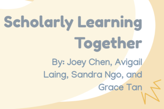 Scholarly Learning Together