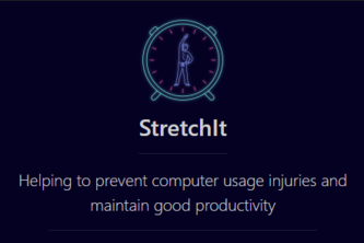 StretchIt: Preventing computer usage injuries