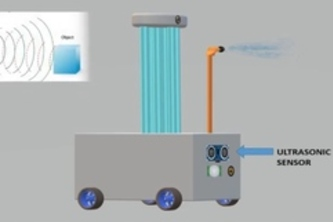 ultraviolet disinfection and sterlizing robot