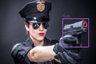 weapon recognition using OpenCV AKA Weapon-O-Run