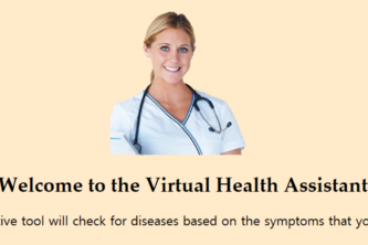 Virtual Health Assistant