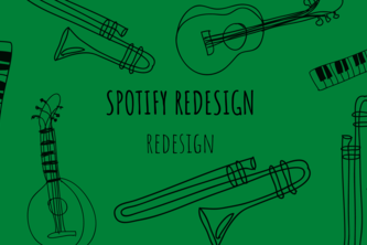 Spotify Redesign UI/UX