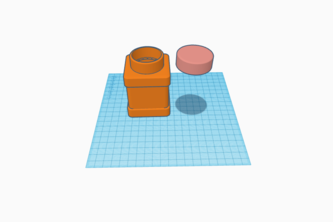 3D Model of a simple container