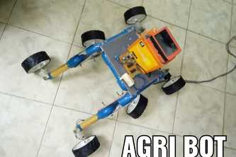AGRI ROVER FOR CROP CULTIVATION IN MARS