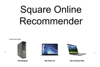 Square Online Recommender