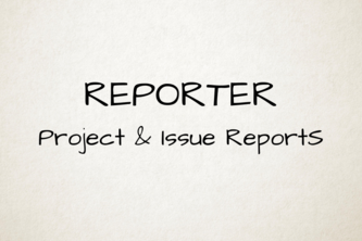Reporter - Project & Issue Reports