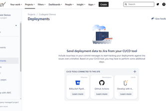 Develop with AWS (Jira)