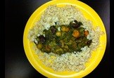 Vegetable Stew with Brown Rice
