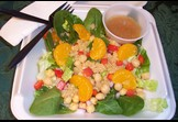 Mandarin Orange & Spinach Salad with Quinoa