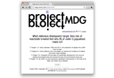 Project MDG
