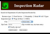 Inspection Radar