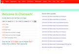 Chatreach: Replace the Brochure Rack