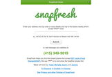 SnapFresh : Mobile & SMS based SNAP Retailer finder