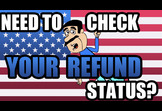How do I check the status of my tax refund?