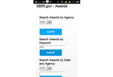 SBIR.gov Awards Search