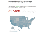 Demand Equal Pay for Women