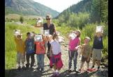 Environmental Stewardship - AmeriCorps - Rural Revitalization: Silverton Youth Build a River Trail