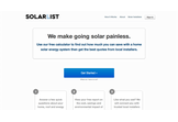 SolarList - makes going solar painless
