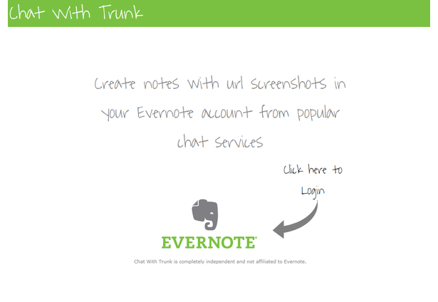 Chat With Trunk | The Evernote Devcup