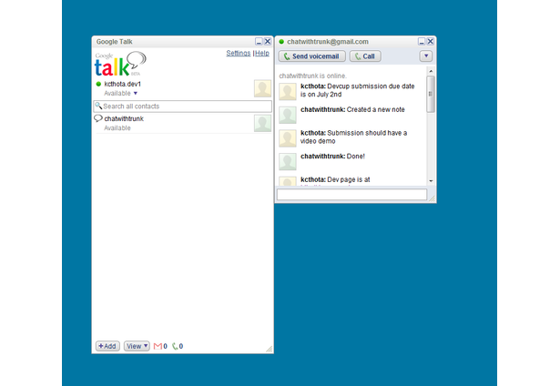 Chat With Trunk   The Evernote Devcup