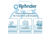 Project Management for Evernote - Refinder