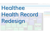 Healthee Health Record Redesign