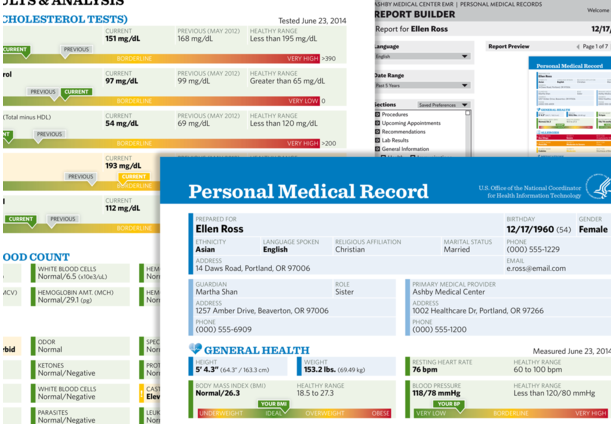 The Personal Medical Record PDF & Report Builder | Health Design