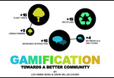 Gamification towards a better Community