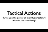 Tactical Actions