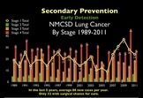 Computed Tomography Screening for Lung Cancer, Emphysema, and Coronary Artery Disease. A program for smoking prevention and cessation.