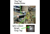 Smart Dog Tags using Near Field Communication (NFC)