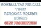Making Robocalling Cost Prohibitive With A Tax Per Call