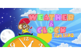 Weather and Clock for kids