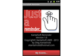 KantalSoft Reminder