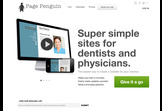 Page Penguin - The simplest way to create a website for your medical practice.