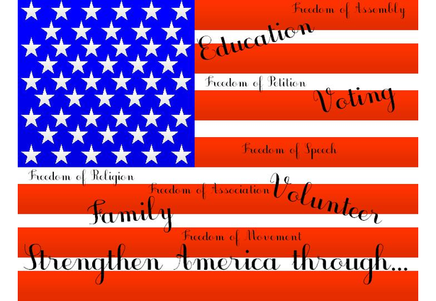 an analysis of what the american flag means