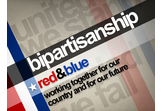BIpartisanship — Red and Blue