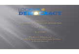 Democratizing our Democracy with Democratic Data