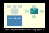 Roller Derby Mind Map Presentation Using Impress.js