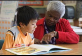 Education, AmeriCorps; Experience Corps Bay Area - Guiding the next generation of readers.