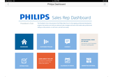Enhatch Mobile CRM for Philips Healthcare